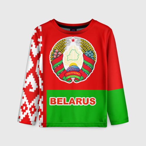 Детский лонгслив 3D Belarus 5