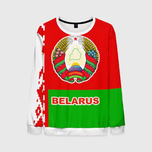 Мужской свитшот 3D Belarus 5