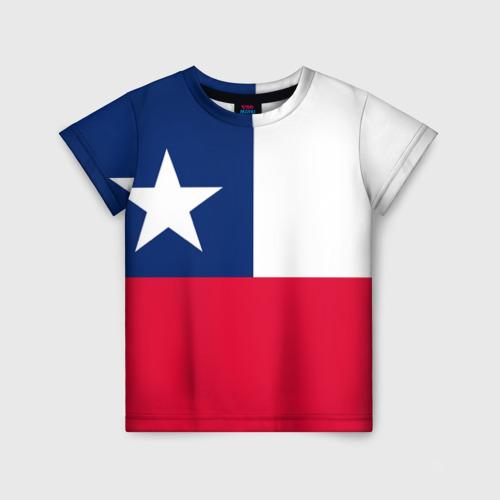 Детская футболка 3D Чили