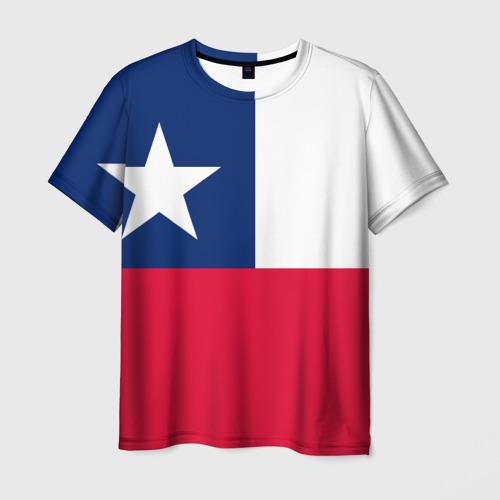 Мужская футболка 3D Чили