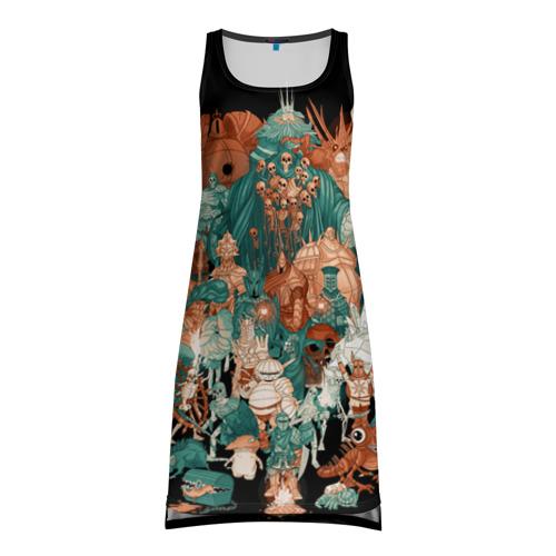 Платье-майка 3D Dark Souls 24