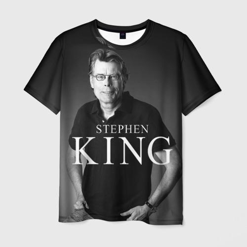 Мужская футболка 3D Стивен Кинг