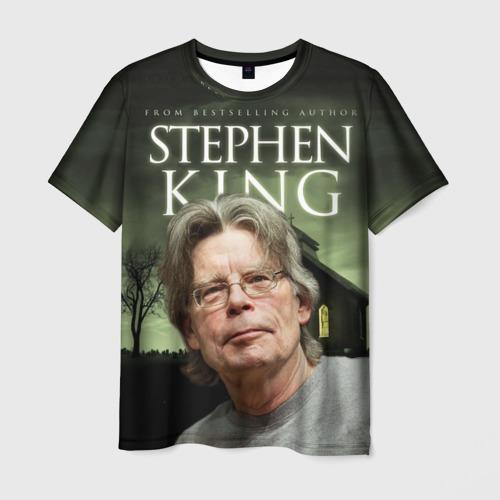 Мужская футболка 3D Стивен Кинг 2