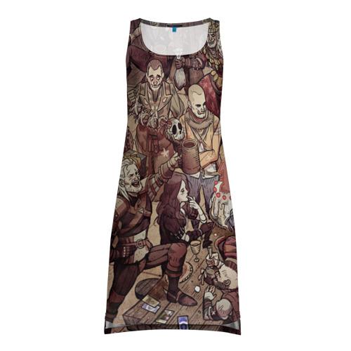 Платье-майка 3D Ведьмак и компания