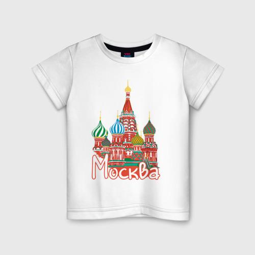 Детская футболка хлопок Москва
