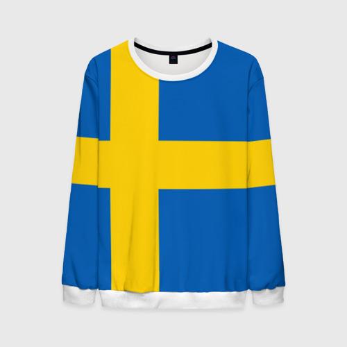 Мужской свитшот 3D Швеция