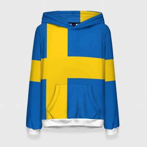 Женская толстовка 3D Швеция