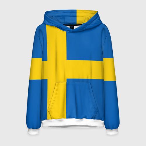 Мужская толстовка 3D Швеция