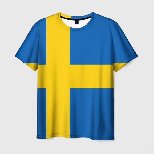 Мужская футболка 3D Швеция