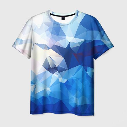 Мужская футболка 3D Абстракция