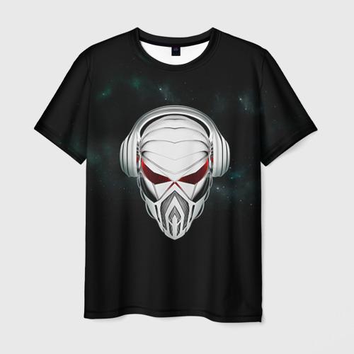 Мужская футболка 3D Пиратская станция 1