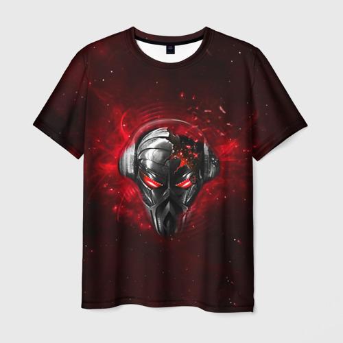 Мужская футболка 3D Пиратская станция 2