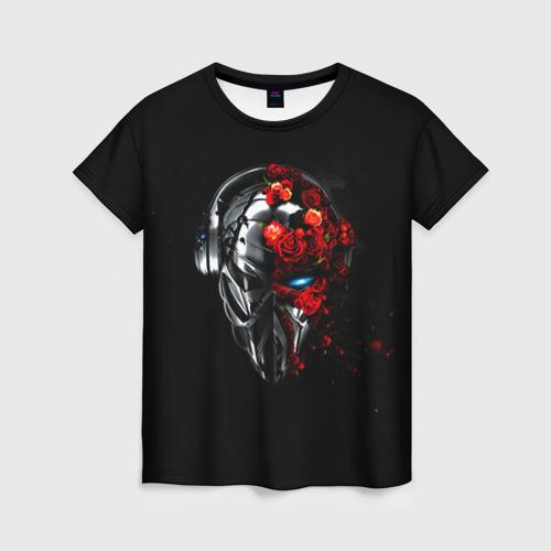 Женская футболка 3D Пиратская станция 3