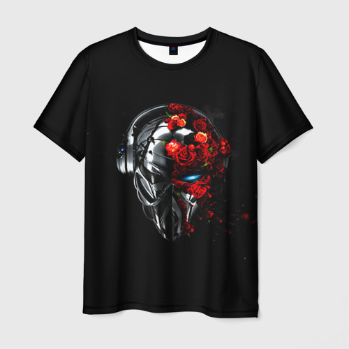 Мужская футболка 3D Пиратская станция 3