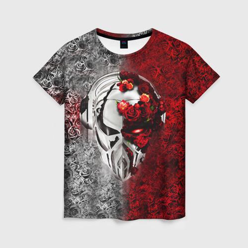 Женская футболка 3D Пиратская станция 4