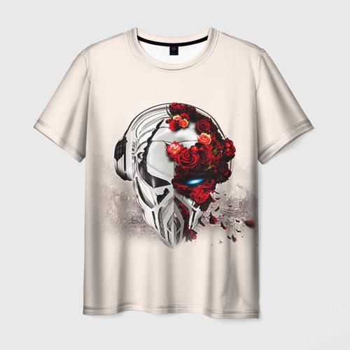 Мужская футболка 3D Пиратская станция 5