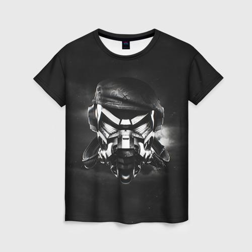 Женская футболка 3D Пиратская станция 6