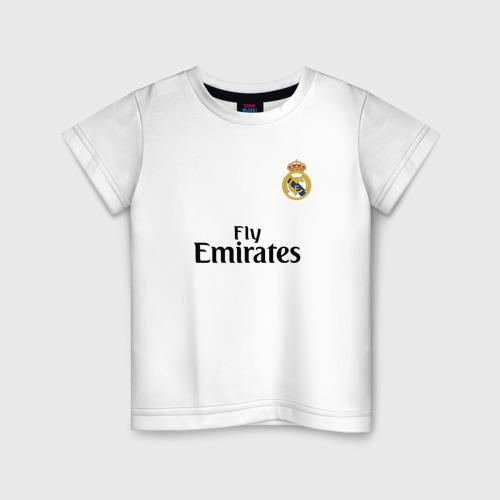 Детская футболка хлопок Реал форма