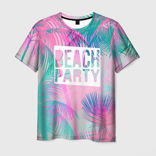 Мужская футболка 3D Beach Party 2