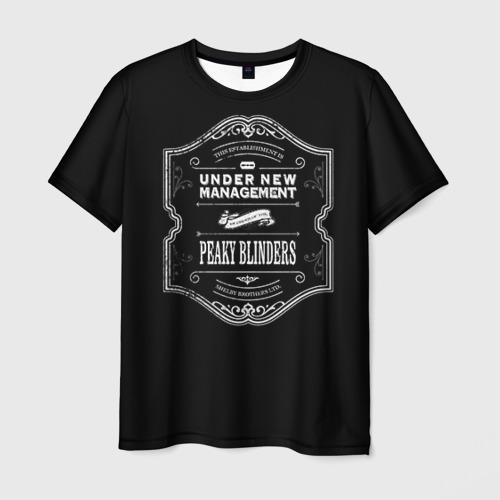 Мужская футболка 3D Peaky Blinders 3