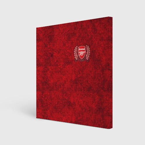 Холст квадратный Arsenal