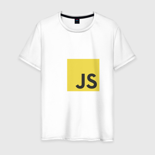 Мужская футболка хлопок JS return true