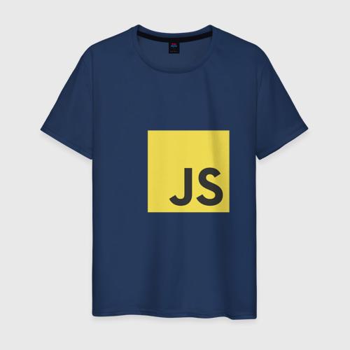 Мужская футболка хлопок JS return true (black)