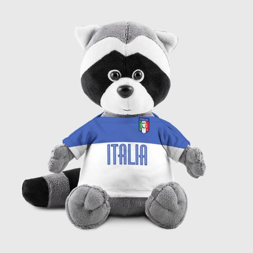 Игрушка Енотик в футболке 3D Сборная Италии по футболу