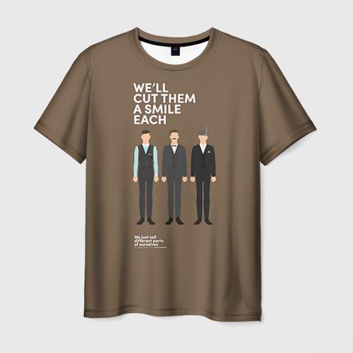 Мужская футболка 3D Peaky Blinders 6