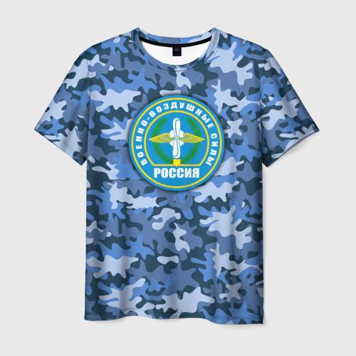 Мужская футболка 3D ВВС России