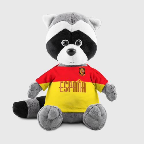 Игрушка Енотик в футболке 3D Сборная Испании по футболу