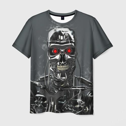 Мужская футболка 3D Терминатор 2