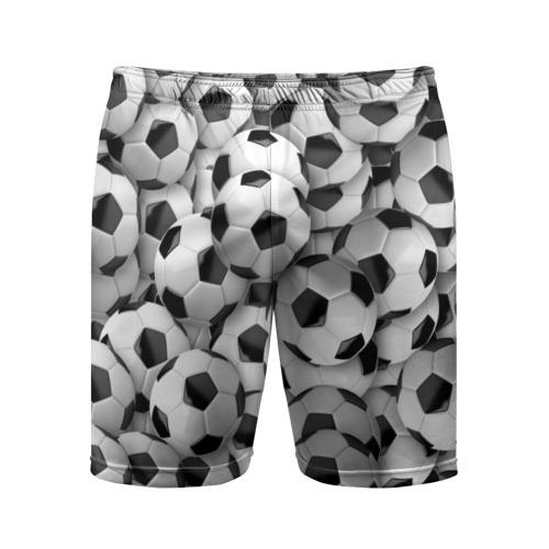 Мужские шорты спортивные Футбольные мячи