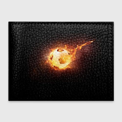 Обложка для студенческого билета Огненный мяч