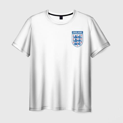 Мужская футболка 3D Сборная Англия