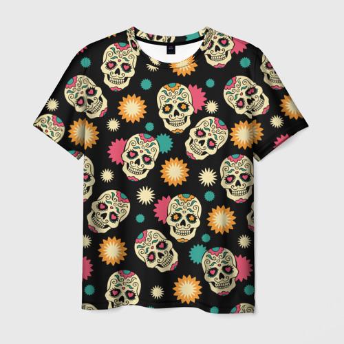 Мужская футболка 3D День мертвецов