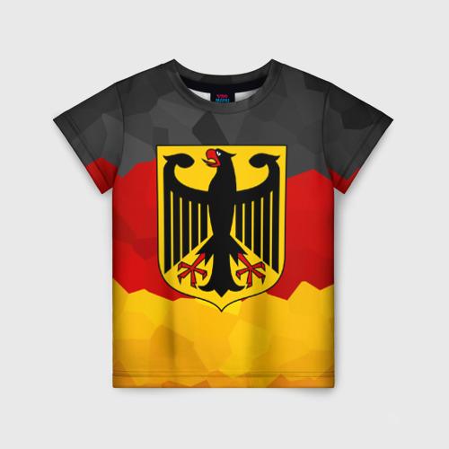Детская футболка 3D Германия
