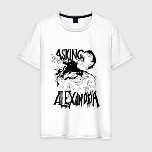 Мужская футболка хлопок Asking Alexandria