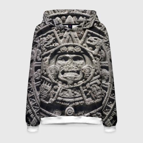 Мужская толстовка 3D Календарь ацтеков