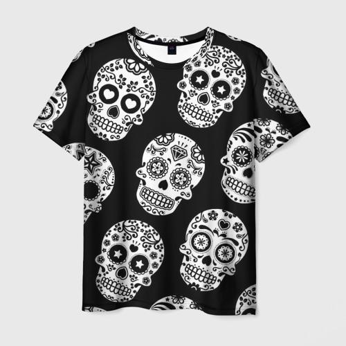 Мужская футболка 3D Черепа