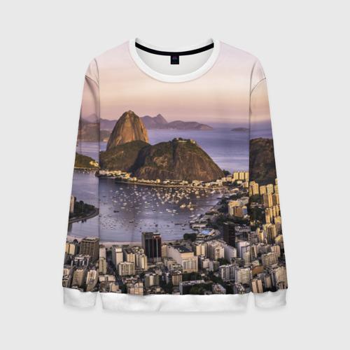 Мужской свитшот 3D Рио (Бразилия)
