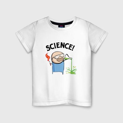 Детская футболка хлопок Science!