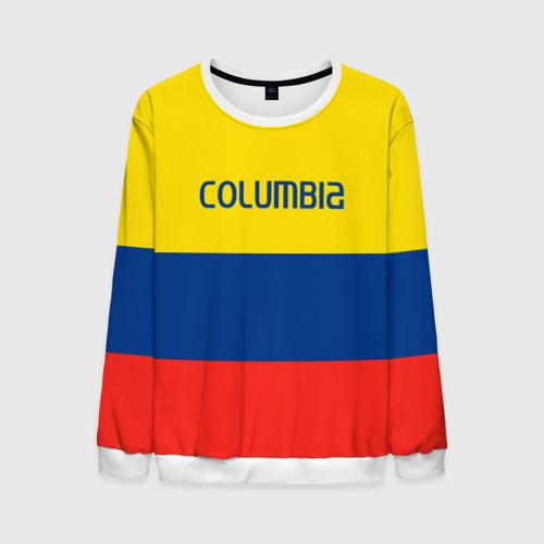 Мужской свитшот 3D Колумбия