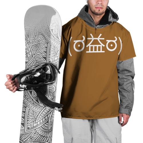 Накидка на куртку 3D Футболка Уоррена