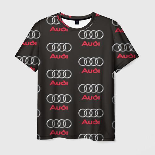 Мужская футболка 3D Audi