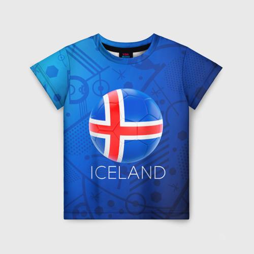 Детская футболка 3D Исландия