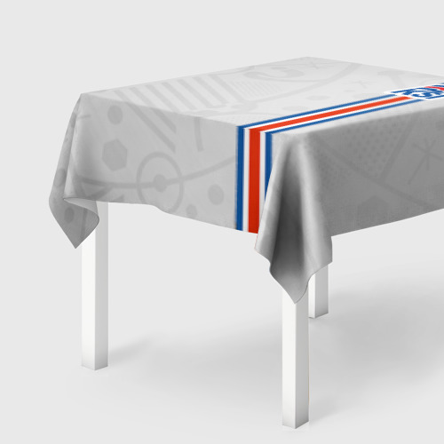 Скатерть 3D Форма сборной Исландии по футболу
