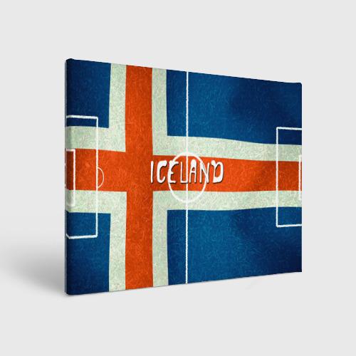 Холст прямоугольный Исландия