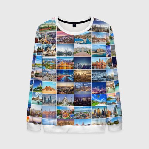 Мужской свитшот 3D Туризм (10х10)