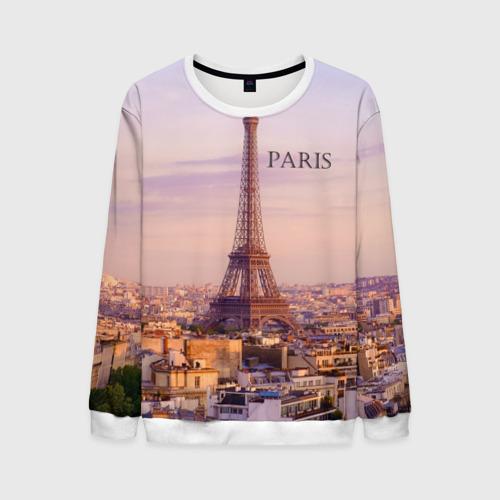 Мужской свитшот 3D Париж
